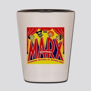 Marx Brothers Festival 2016 Shot Glass
