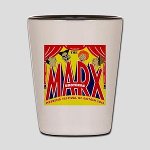 Marx Brothers Festival 2016 Shot Glass