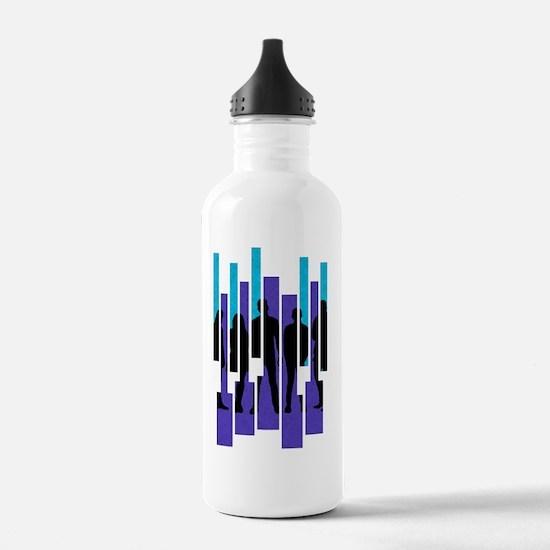 PTX Silhouettes Sports Water Bottle