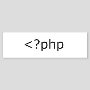 php programming Bumper Sticker