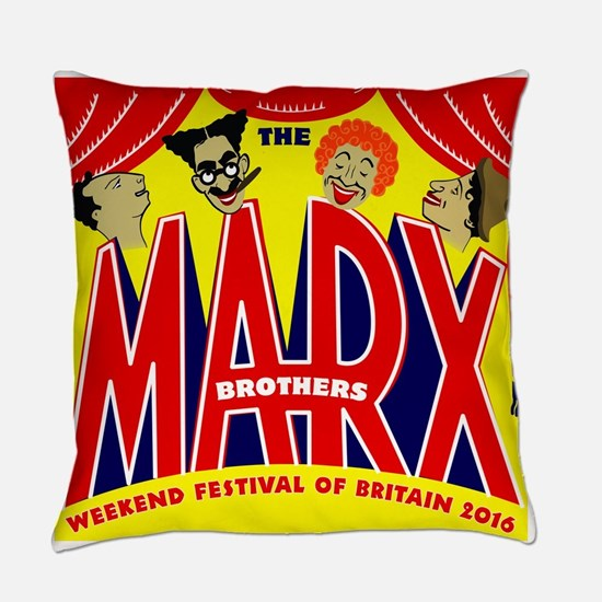Marx Brothers Festival 2016 Everyday Pillow