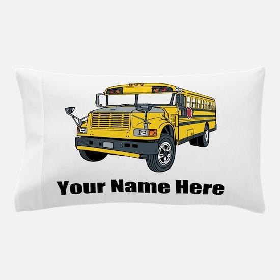 School Bus Pillow Case