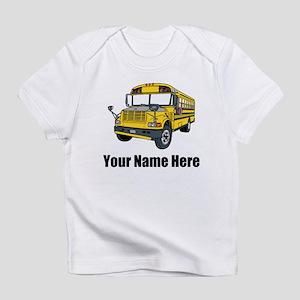 School Bus Infant T-Shirt