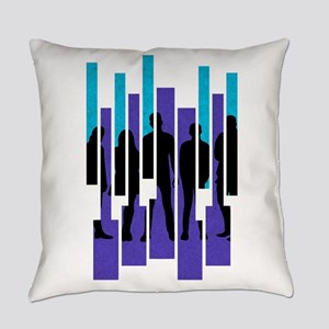 PTX Silhouettes Everyday Pillow