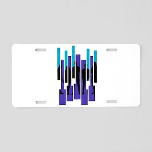 PTX Silhouettes Aluminum License Plate