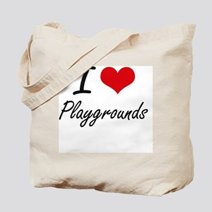 I Love Playgrounds Tote Bag