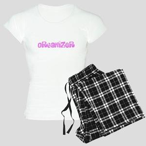 Organizer Pink Flower Design Pajamas