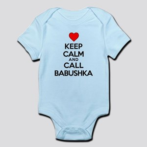 Keep Calm Call Babushka Body Suit