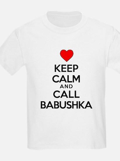 Keep Calm Call Babushka T-Shirt