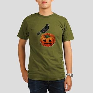 vintage halloween cro Organic Men's T-Shirt (dark)