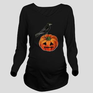 vintage halloween cr Long Sleeve Maternity T-Shirt