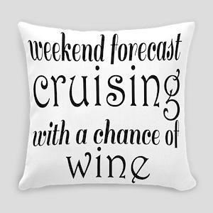 Cruising and Wine Everyday Pillow