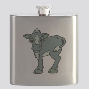 greenish grey calf Flask