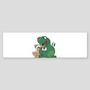 oh crap! t-rex Bumper Sticker
