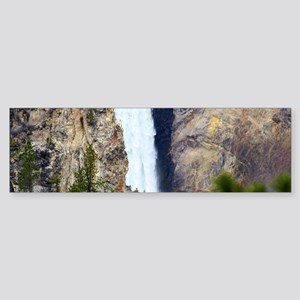 YELLOWSTONE WATERFALL Sticker (Bumper)