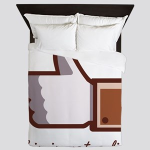 This is not a like - magritte Queen Duvet