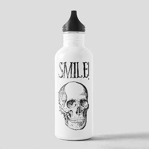 Smile! Skull smiling Stainless Water Bottle 1.0L
