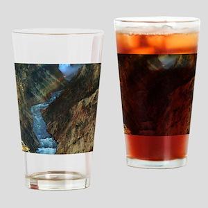 YELLOWSTONE LOWER FALLS Drinking Glass