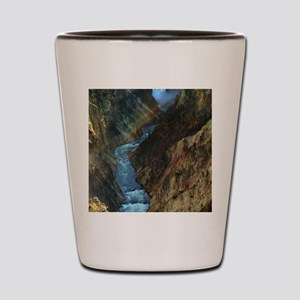 YELLOWSTONE LOWER FALLS Shot Glass