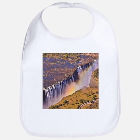 WATERFALL AFRICA ZAMBIA Bib