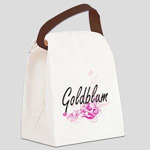 Goldblum surname artistic design Canvas Lunch Bag