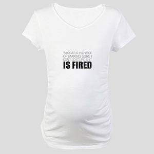 Stupid Shit Maternity T-Shirt