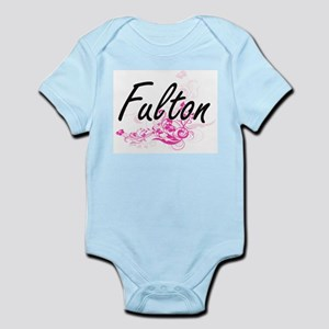 Fulton surname artistic design with Flow Body Suit