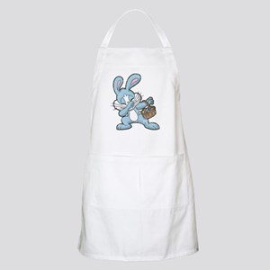 Dabbing Easter Bunny Light Apron