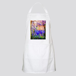 Nature In Stained Glass Apron