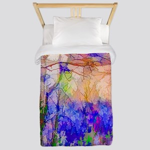 Nature In Stained Glass Twin Duvet