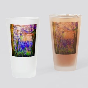 Nature In Stained Glass Drinking Glass