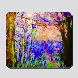 Nature In Stained Glass Mousepad