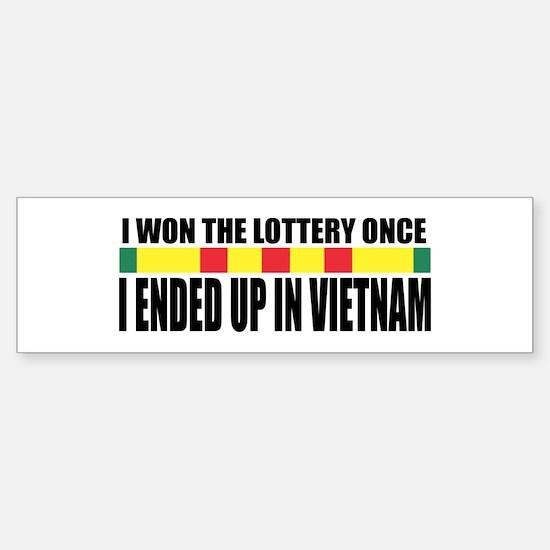 Draft Lottery Bumper Bumper Bumper Sticker