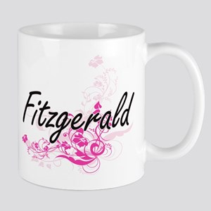 Fitzgerald surname artistic design with Mugs