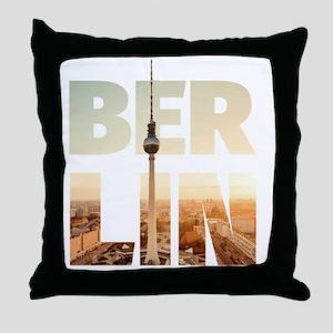 BERLIN CITY – Typo Throw Pillow