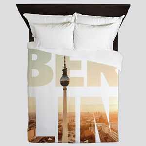 BERLIN CITY – Typo Queen Duvet
