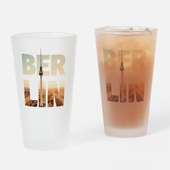 BERLIN CITY – Typo Drinking Glass