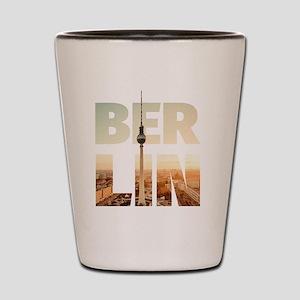 BERLIN CITY – Typo Shot Glass