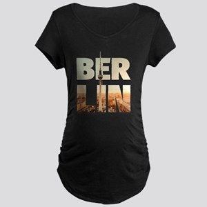 BERLIN CITY – Typo Maternity Dark T-Shirt