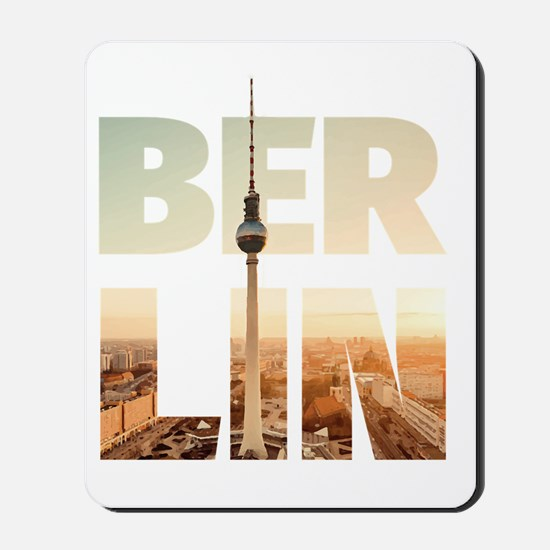 BERLIN CITY – Typo Mousepad