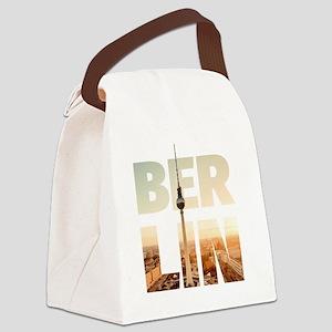 BERLIN CITY – Typo Canvas Lunch Bag
