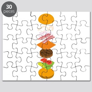 The perfect burger Puzzle