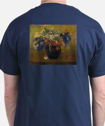 A Vase of Flowers by Gauguin T-Shirt