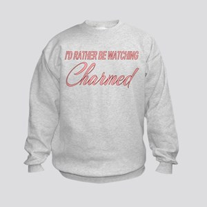 I'd Rather Be Watching Charmed Kids Sweatshirt