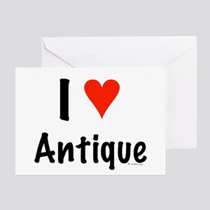I love Antique Greeting Card