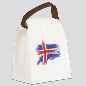 Iceland flag Canvas Lunch Bag