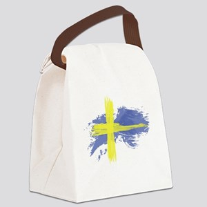 Sweden Flag Stockholm Canvas Lunch Bag