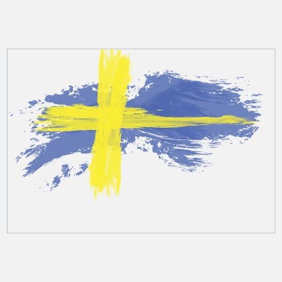 Sweden Flag Stockholm