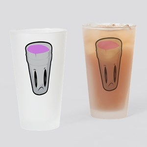 Double Cup Sad Drinking Glass