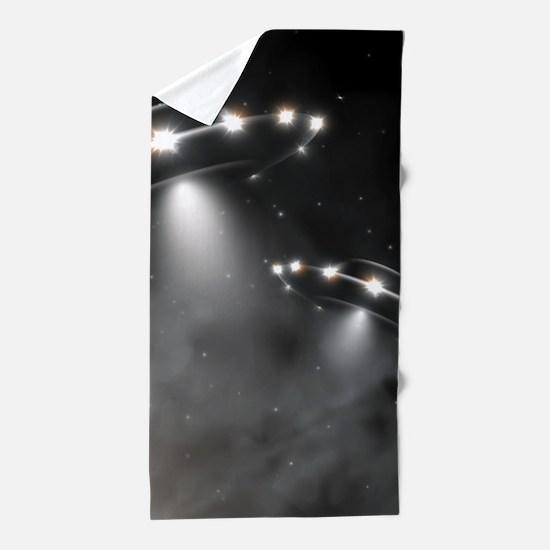 UFO Beach Towel
